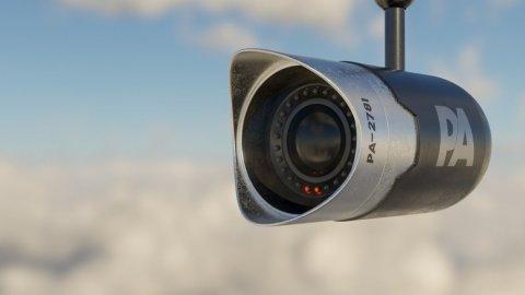 Installation système vidéosurveillance pour bureau de tabac à Roanne